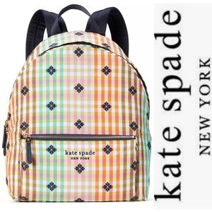 kate spade new york  The Bella Plaid City Backpack